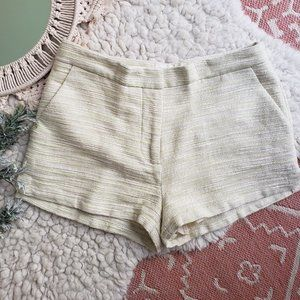 H&M CONSCIOUS COLLECTION | Size 6 Tweed Shorts